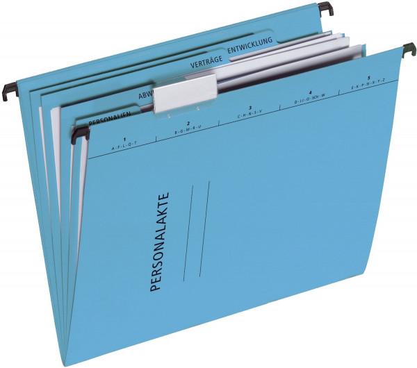 Pagna® 44105 Personalakte - 5 tlg., mit Hängeschienen, blau