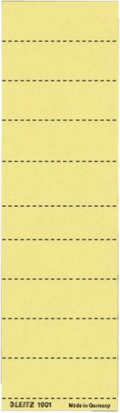 1901 Blanko-Schildchen 1901, Karton, 100 Stück, gelb