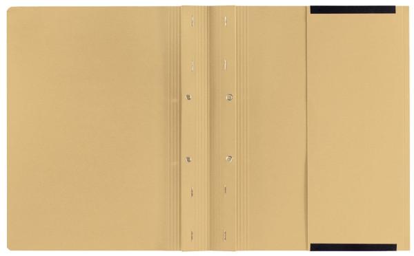 Kanzleihefter B ungefalzt - Rechtsheftung/Linksheftung, 1 Tasche, 2 Abheftvorrichtung, chamois