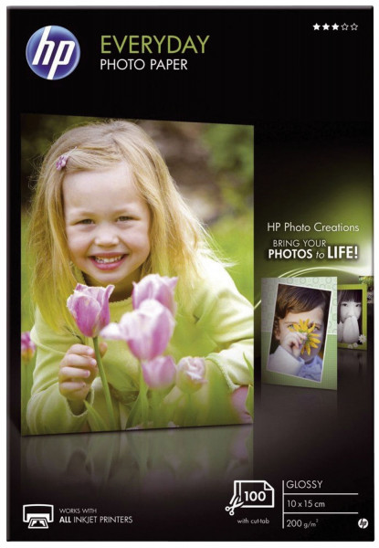 Fotopapiere Standard - A4, glänzend, 200 g/qm, 25 Blatt