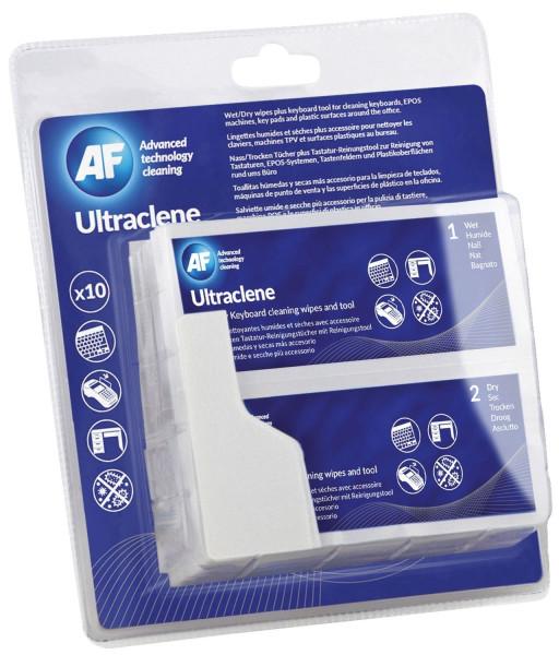 Ultraclene - 10 Tücher Nass-/Trockentücher