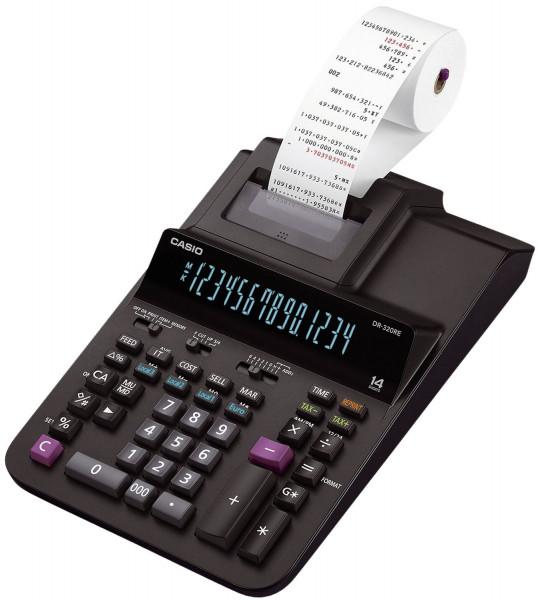 Casio® Tischrechner DR 320RE,druckend, 14-stellig