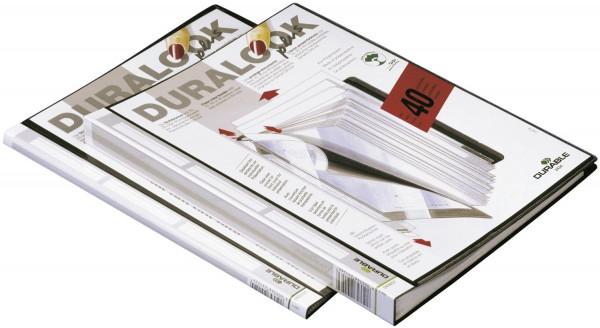 Sichtbuch DURALOOK® PLUS - A4, 10 Hüllen, 9 mm, schwarz