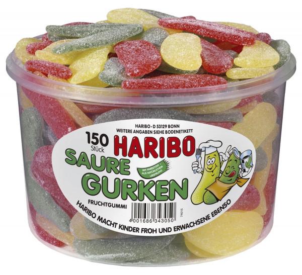 HARIBO Saure Gurken Dose mit 150 St
