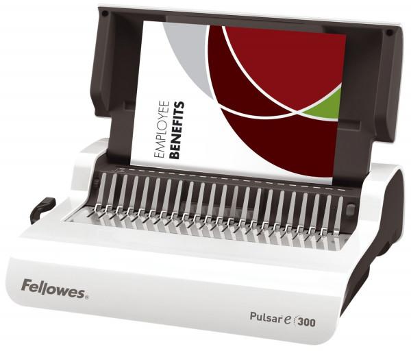 Plastikbindegerät Pulsar-E 300, elektronisch, für 300 Blatt