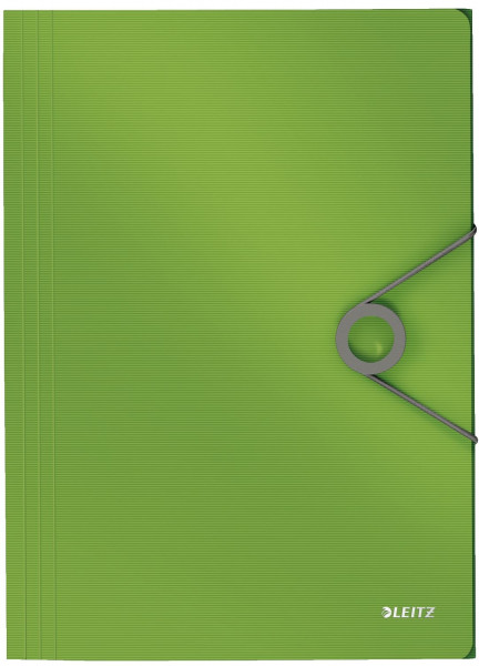 4563 Dreiflügelmappe Solid - A4, PP, hellgrün