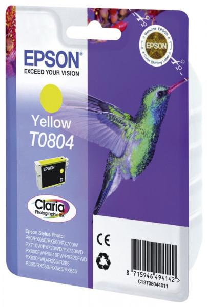 Epson T0804 Inkjet-Druckpatronen yellow, 220 Seiten, C13T08044011