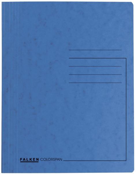 Falken Schnellhefter Colorspankarton DIN A4, hellblau