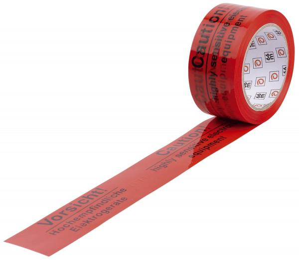 WIHE-lux Warndruckbänder, Vorsicht hochempfindliche Elektrogeräte