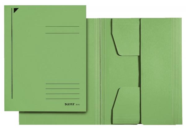 3924 Jurismappe, A4, Colorspankarton 300g, grün