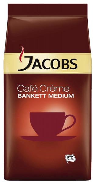Jacobs Kaffee in Gastronomie Qualität - Bankett Caffee Crema, ganze Bohnen 1000g