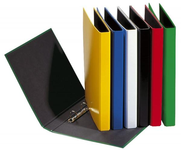 Ringbuch Basic Colours - A4, 2-Ring, Ring-Ø 20mm, grün