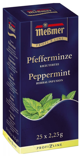 Meßmer Tee-Spezialitäten - Pfefferminze 25 Teebeutel