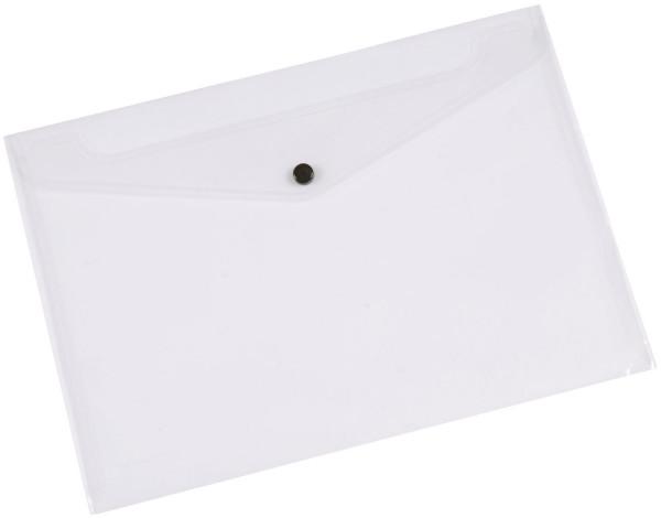 Q-Connect Dokumentenmappe transluzent, A4 bis zu 50 Blatt
