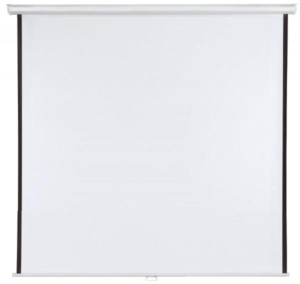 Rolloleinwand X-tra!Line® - 180 x 180 cm, manuell