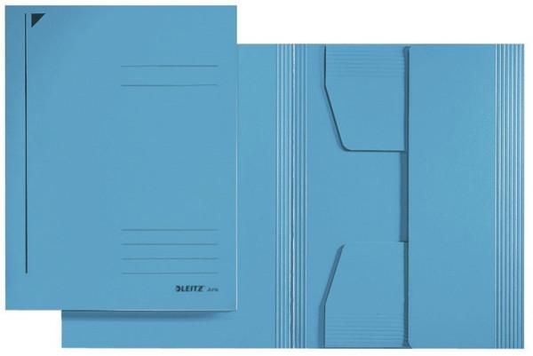 3925 Jurismappe, A5, Colorspankarton 300g, blau