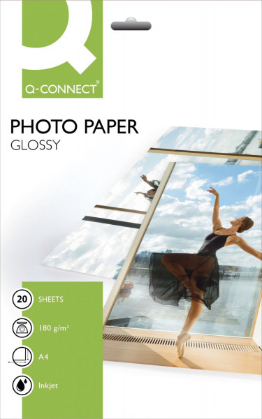 Inkjet-Photopapiere - A4, hochglänzend, 180 g/qm, 20 Blatt