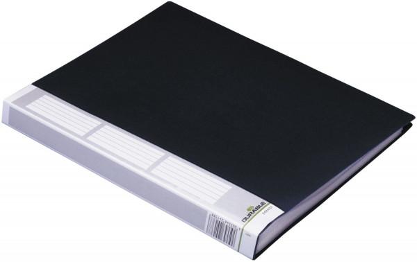 Sichtbuch DURALOOK® - A4, 40 Hüllen, 25 mm, schwarz