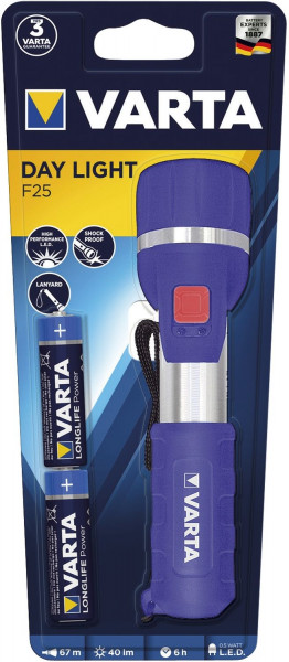 Varta Taschenlampe Power Line 0,5 Watt Day Light