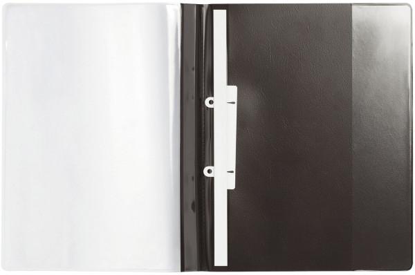 Durable 2589 Angebotshefter schwarz DURAPLUS® DE LUXE, strapazierfähige Folie, A4
