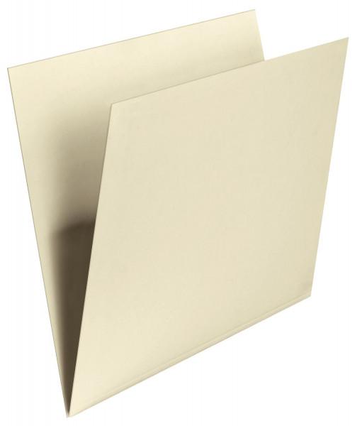 Falken Einstellmappe mit Schreibrand chamois, Kraftkarton, 180 g/qm