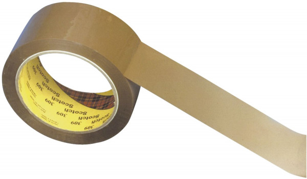 Scotch® 309 Packband 66m x 50mm, braun